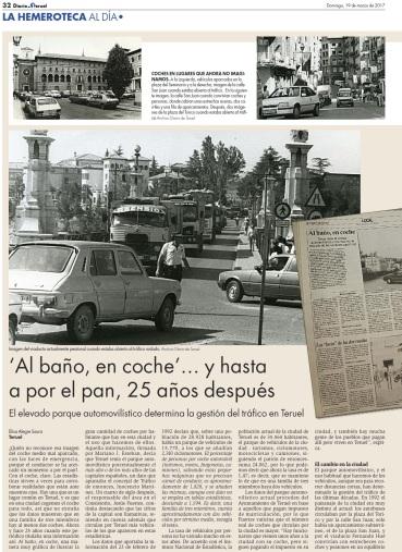 patonalización centro historico Diario de Teruel 1