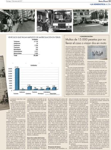 peatonalización centro histórico Diario de Teruel 2