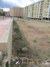 Futuro parque en la calle Italia entre las calles Italia, Juan Salvador y Pedro IV