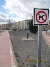 Parque situado entre las calles Pedro IV, Juan Salvador y Francia