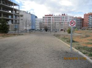 Parque situado entre las calles Los Sauces e Italia