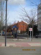 Parque situado entre las calles Pedro IV y Los Sauces